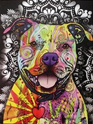 Beware of Pitbulls Artist Proof 10/25