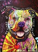 Beware of Pitbulls Artist Proof 22/25