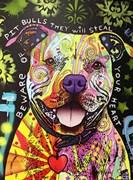Beware of Pitbulls Artist Proof 23/25