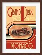 Printed Monaco 1935