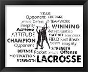 Lacrosse Text
