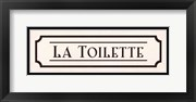 La Toilette - mini