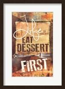 East Dessert First