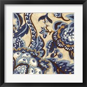 Custom Indigo Tapestry II