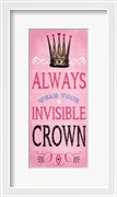 Invisible Crown - Pink