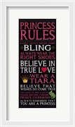 Princess Rules - Black