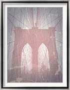 Brooklyn Bridge Red