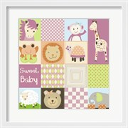 Baby Girl Animal Quilt