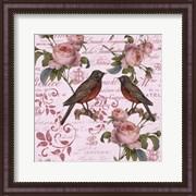 Vintage Rose Pink Pattern