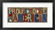 Patriotic Printer Block Panel II