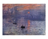 Impression, Sunrise, c.1872 (blue)