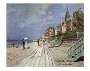 Beach at Trouville, c.1870