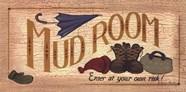 Mud Room Clutter