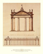 Alternate Design For Piazza di San Pietro, (The Vatican Collection)