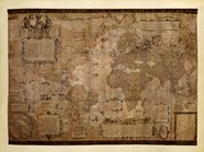 Map of the World, c.1500's (antique style)