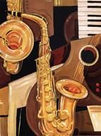 Abstract Sax - mini  Fine-Art Print