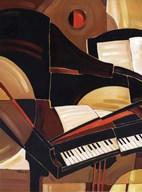 Abstract Piano - mini  Fine-Art Print