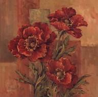 Poppies Terra Cotta  Fine-Art Print