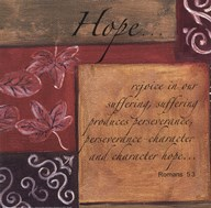 Words to Live By - Hope  Fine-Art Print