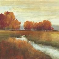 Orange Treescape - Mini  Fine-Art Print