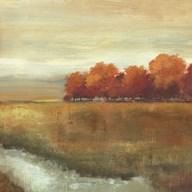Orange Treescape II - mini  Fine-Art Print