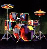 Drum Set  Fine-Art Print