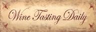 Wine Tasting Daily  Fine-Art Print