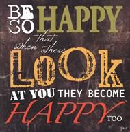 Be So Happy  Fine-Art Print