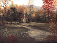 Autumn a the Olivers  Fine-Art Print