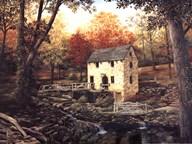 Old Mill Stream V  Fine-Art Print