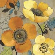 Yellow and Orange Poppies I  Fine-Art Print
