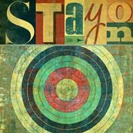 Stay on Target  Fine-Art Print