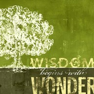 Wisdom Begins with Wonder  Fine-Art Print