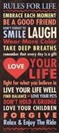 Life - quote  Fine-Art Print
