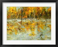 Reflections of Autumn - Yellow  Frame