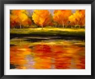Reflections of Autumn - Orange  Frame
