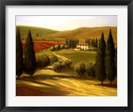 Through the Hills of Tuscany  Frame