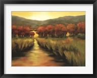 Stream Through the Autumn Trees  Frame
