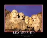 Framed Patriotic-Leadership
