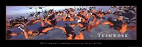 Framed Teamwork - Sky Divers