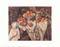 Framed Apples and Oranges, c.1895