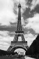 La Tour Eiffel, Paris Framed Print