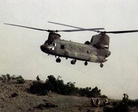 Framed CH-47 Chinook United States Army