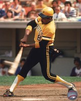 Framed Willie Stargell Action