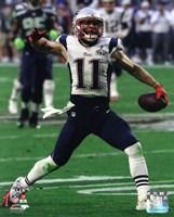Framed Julian Edelman Super Bowl XLIX Action