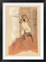 Framed Man with a Calabash