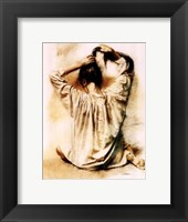 Long Hair Framed Print