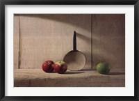 Framed Apple Trio