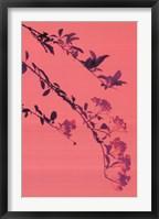 Framed Butterfly Blossom