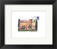 Provence Garden Framed Print